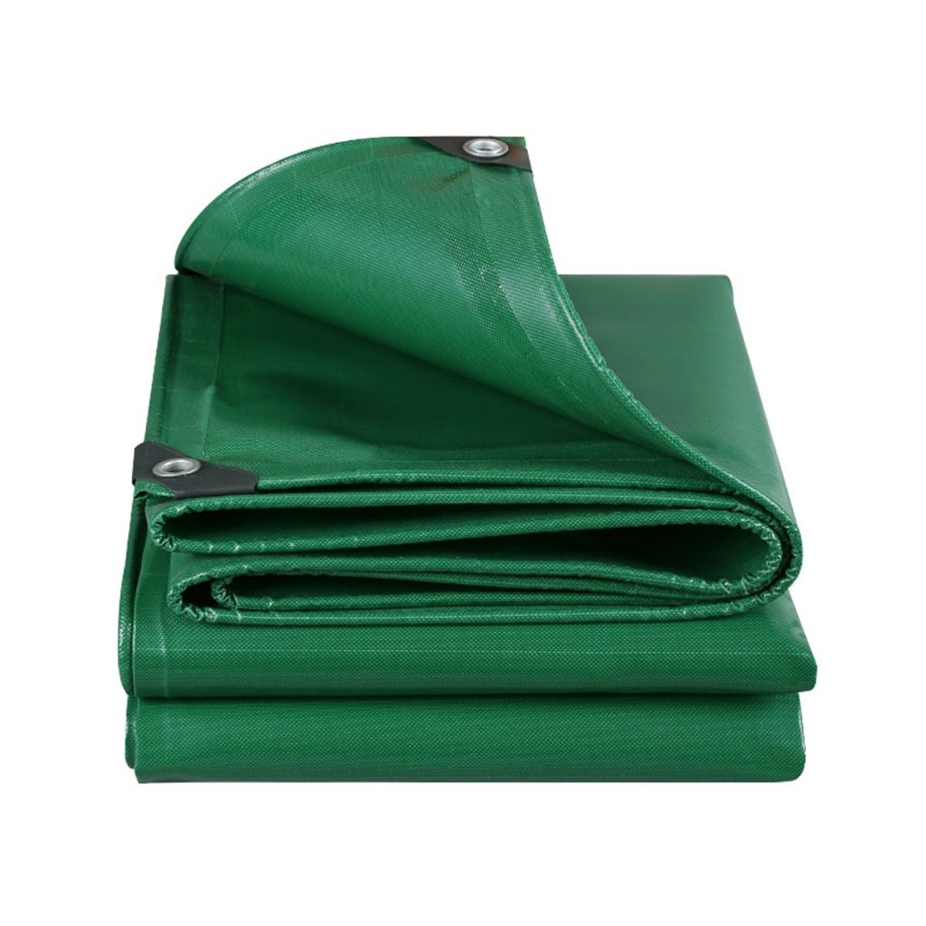 AJZXHE Plane gepolsterte regendichte Sonnenschutz LKW-Plane im Freien schützende Schuppen Tuch Isolierung Abriebfest, grün -Plane