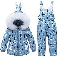 CARETOO Donsjas voor jongens, dikke bescherming tegen de kou, lange jas, winterjas, jongens meisjes, donsjas met…