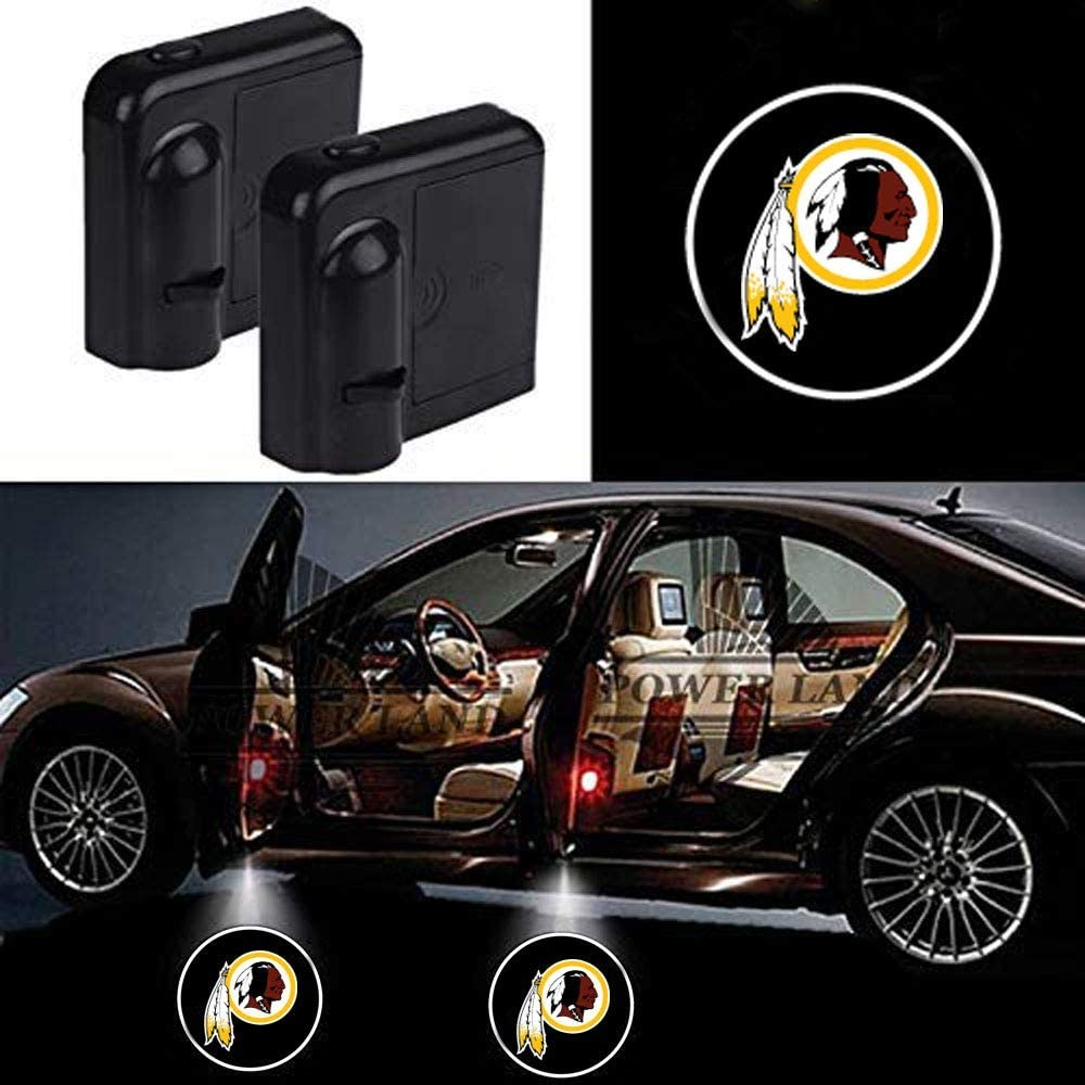 Tennessee Titans 2pcs Car Door Led Welcome Laser Projector Car Door Courtesy Light Suitable Fit for all brands of cars