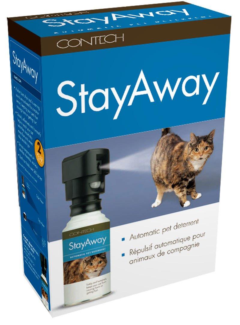 Amazon.com : Contech StayAway Motion-Activated Pet Deterrent ...