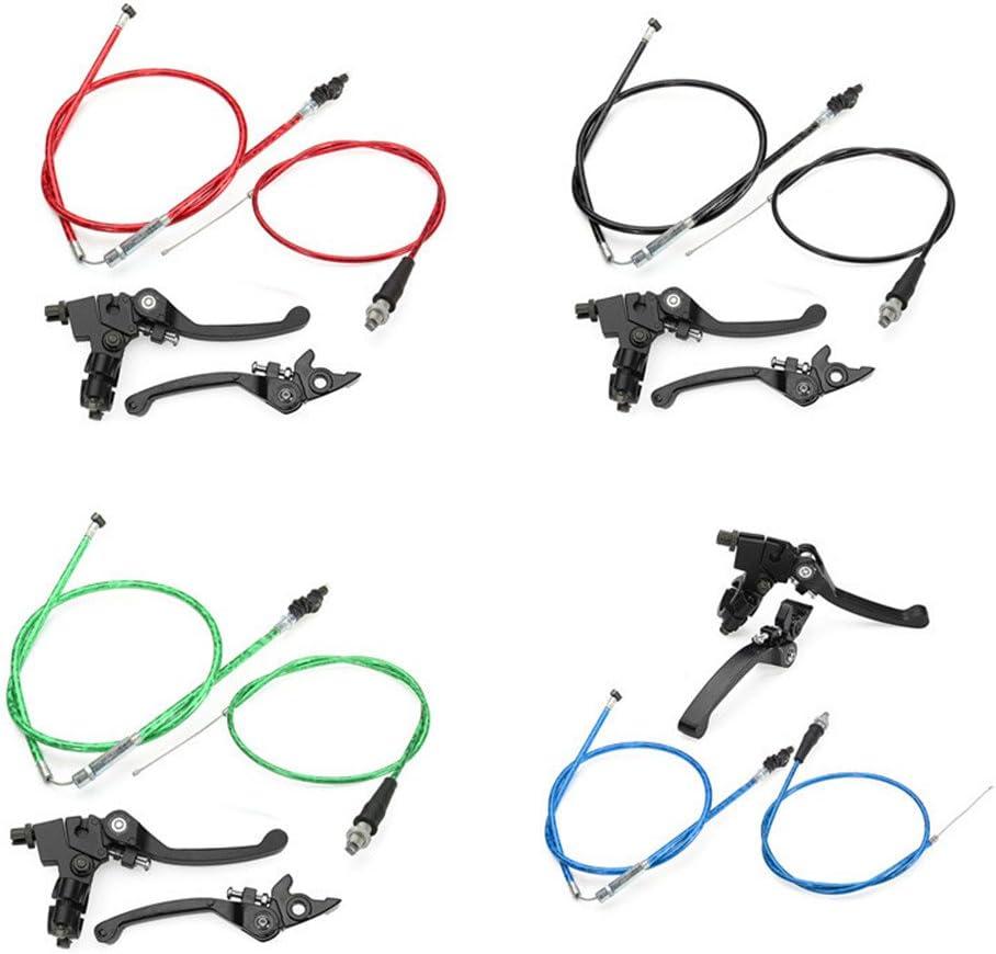 Cable de Embrague Cable de Freno KEISL Un par CRF50 SSR KLX 110 CC 125 CC 150 CC manija de Freno Plegable Universal para Motocicleta