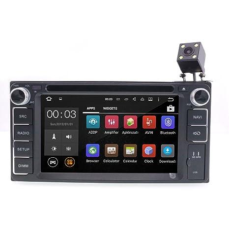 Cusp Android 7.1 estéreo de coche GPS DVD Reproductor de medios de comunicación para Toyota Hilux