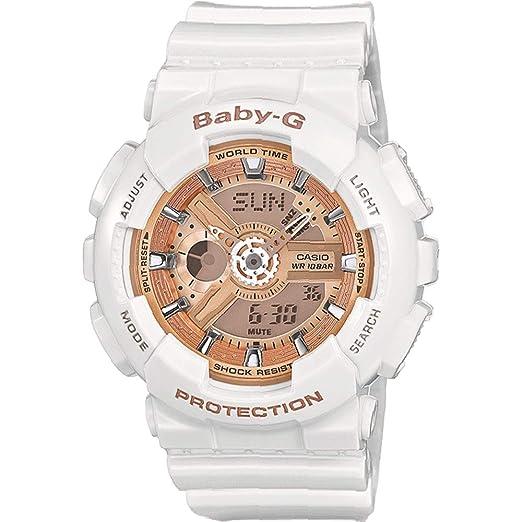 8a511f683d53 Casio Baby-G Women's Watch BA-110-7A1ER: Amazon.co.uk: Watches