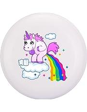 Eurodisc 175g 4.0Ultimate bio de plástico Frisbee Unicorn Nubes (Blanco)