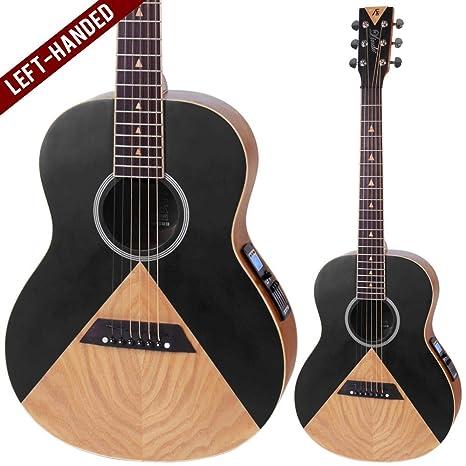 Lindo Aztec - Guitarra electroacústica para zurdos: Amazon.es ...
