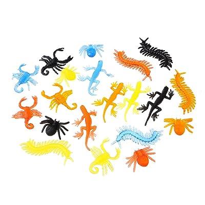 13 Animales viscosos para niños | Juguetes Adhesivos en Forma de Monstruos Formas | Regalo apropiado para Fiestas de Navidad y Fiestas de cumpleaños Infantiles: Juguetes y juegos