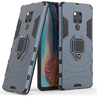 Kompatybilne z Huawei Mate 20X Etui Ochronne, Pierścień o 360 Obrót Magnetyczny Uchwyt na Telefon Komórkowy (Granatowy)