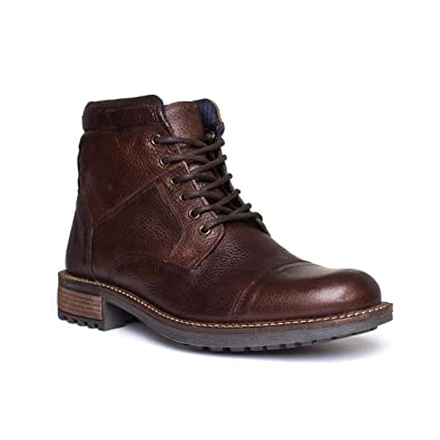 ad82c513 Catesby Mens Lace Up Boot in Brown: Amazon.co.uk: Shoes & Bags