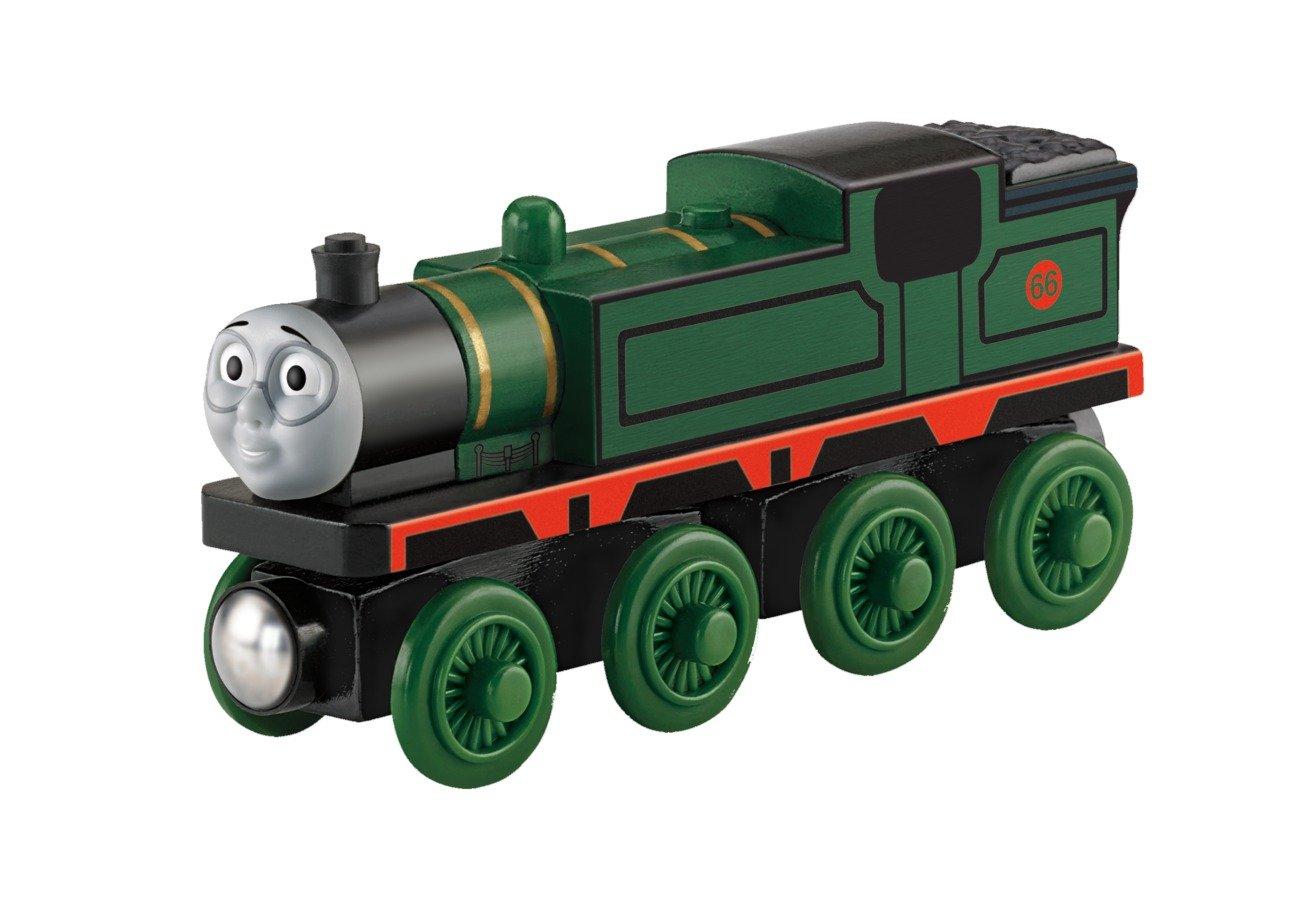 Locomotiva in legno per piste ferroviarie Mattel Il trenino Thomas