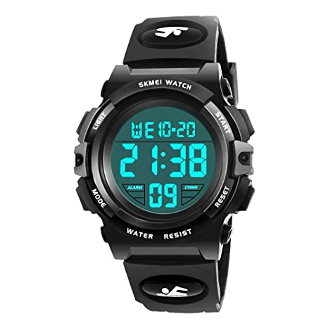 My For 6 12 Years Old Boys Eletronic Sport Watch Birthday Present
