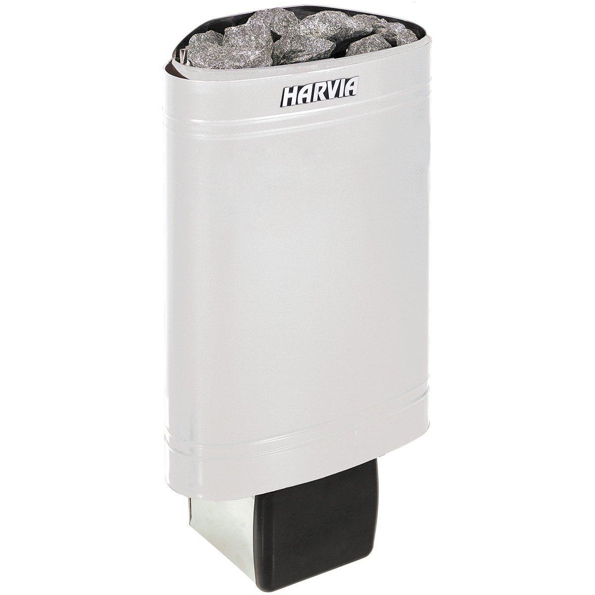 Sauna Po/êle /Électrique Harvia Delta D23 2,3 kW acier inoxydable avec unit/é de contr/ôle encastr/é Tension 230V 1N ; 400 V 2N Taille de sauna: 1,3-2,5 m/³