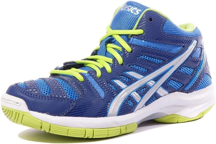 ASICS Schuhe Gel Beyond 4 Mt Gs Electric BlueSilberLime 1516, blau, 2,5Y