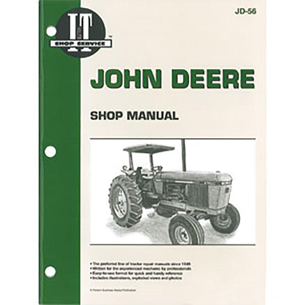 Jd56 New Shop Manual For John Deere Tractor 2840 2940 2950 Smjd56 4320 Wiring Schematic Itjd56 Industrial Scientific