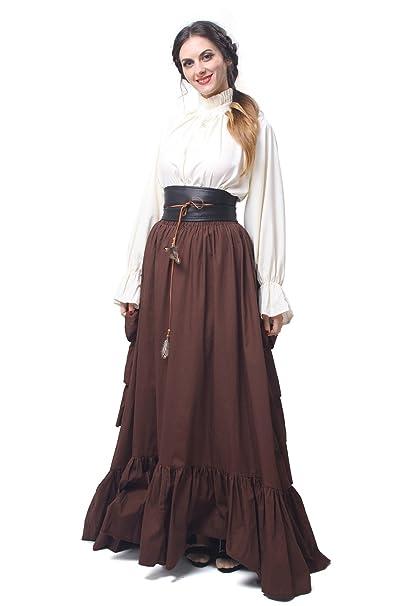 Amazon.com: Vestido de mujer de estilo renacentista con ...