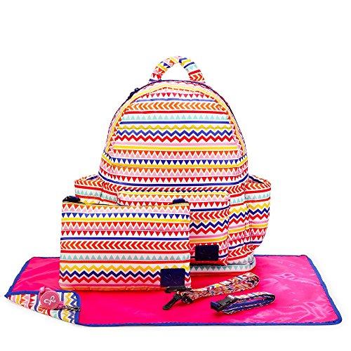 CiPU B-Bag 2.0 ECO Backpack Diaper Bag 6 Pieces Combo Set