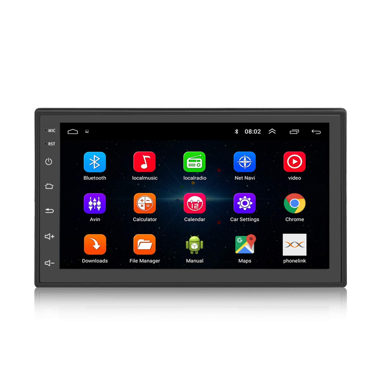 KKXXX S6 Android 2 DIN Car Stereo 1 GB de RAM 16 GB ROM Quad Core