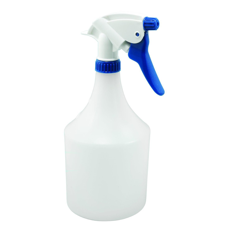 Prime-Line MP10786-10 Sprayer Bottles, 32 oz, High-Density Polyethylene, White, Chemical Resistant, Pack of 10, 10 Piece