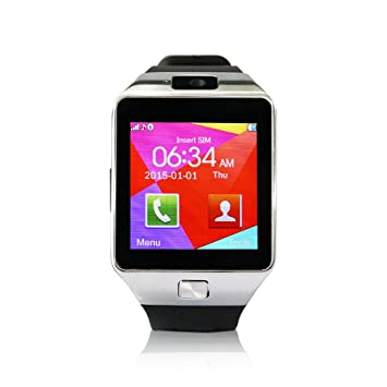 YUNTAB SW01 Bluetooth Smart Watch pantalla LCD 1.56
