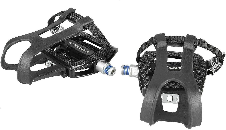 Venzo Fitness ejercicio Shimano SPD compatible pedales para Bicicleta de Spin: Amazon.es: Deportes y aire libre