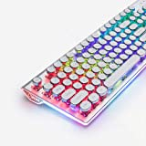 DoubleW Typewriter Keyboard with LED Backlit