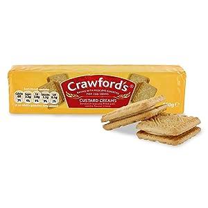 Crawfords Custard Creams 150g
