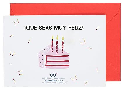 UO ESTUDIO LMCT3 - Postal para cumpleaños