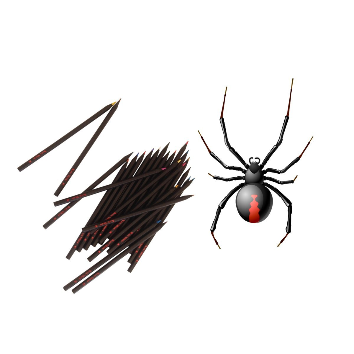 amazon com black widow colored pencils for adults the best