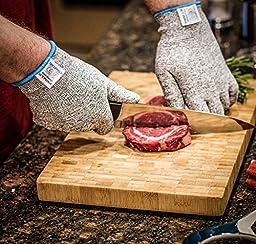 Stark Safe Cut Resistant Kitchen Gloves, X-large