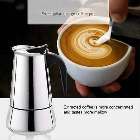 KERVINFENDRIYUN YY4 Coffee Pot 100/200/300/450 ml portátil ...