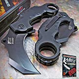 Best NEW Karambit Knives - MTECH XTREME TACTICAL Spring Assisted Open BLACK G10 Review