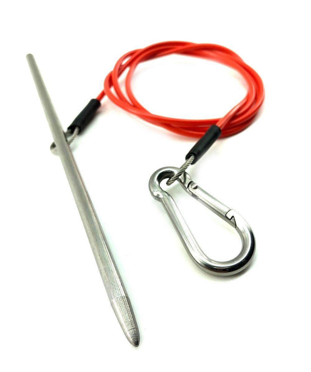 Spearfishingworld Coated Wire Fish Stringer by Spearfishingworld