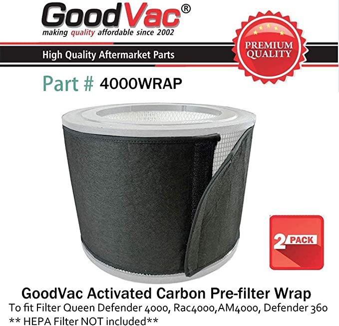 GOODVAC Filtro Reina Defender 4000 7500 360 Carbono Filtro de ...