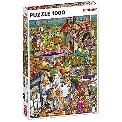 Piatnik 5352 Ruyer La Storia Del Vino Puzzle 1000 Pezzi