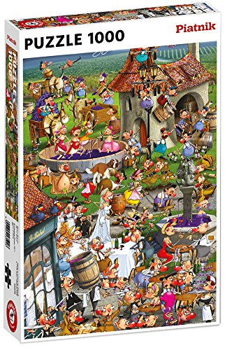 Piatnik 00 5352 Ruyer - Story of Wine Puzzle