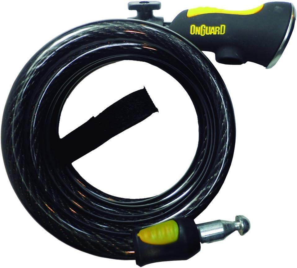 ONGUARD Doberman Key Coil Cable Lock