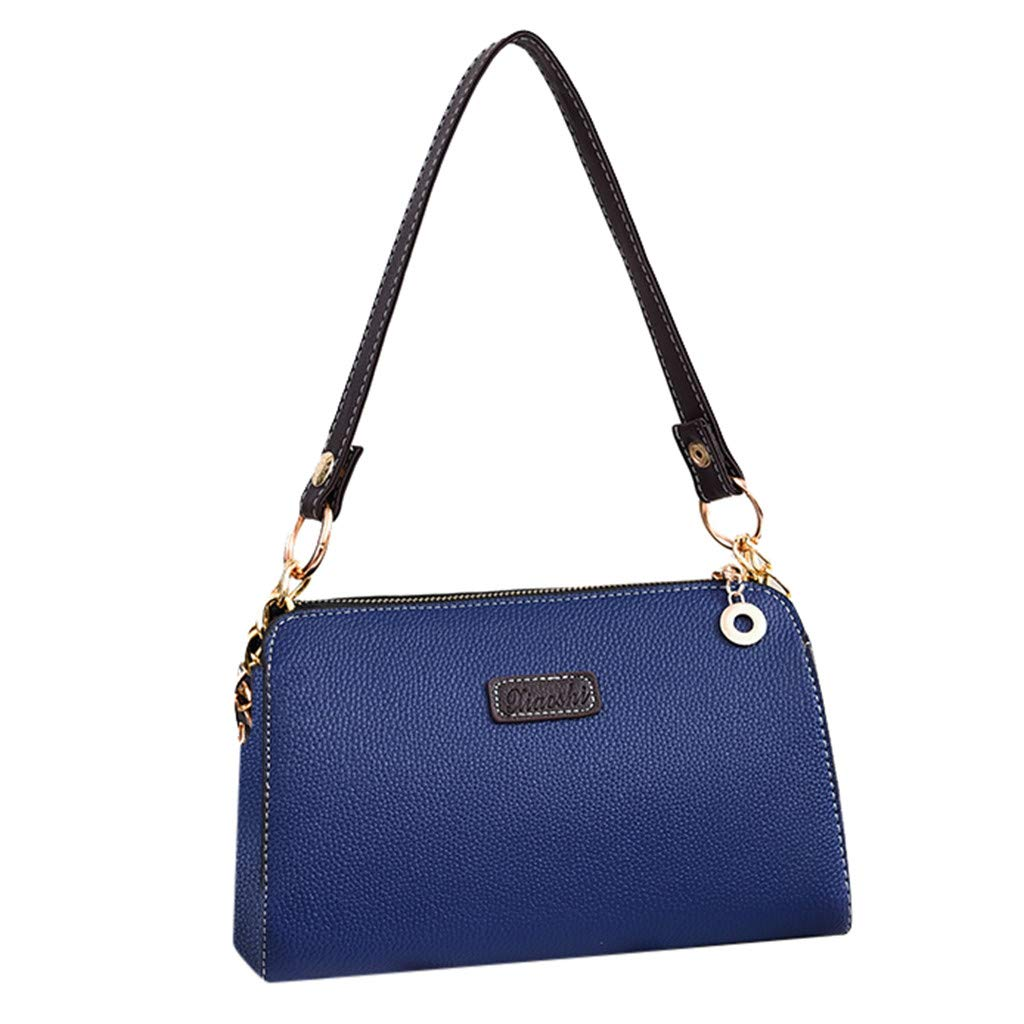 Respctful✿ Fashion Satchel Purses and Handbags for Women's Fashion Shoulder Tote Bags Navy