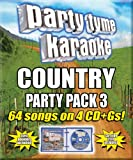 Party Tyme Karaoke - Country Party Pack 3 (CD +G) [4 CD]
