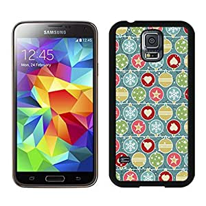 New Design Christmas snowflake Black Samsung Galaxy S5 Case 3 by icecream design