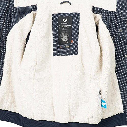 Con Giacca Ewok Ragwear Colori Donna Cappuccio Pois Da Xs Invernale xl A 7 Blu XBUqqxRw