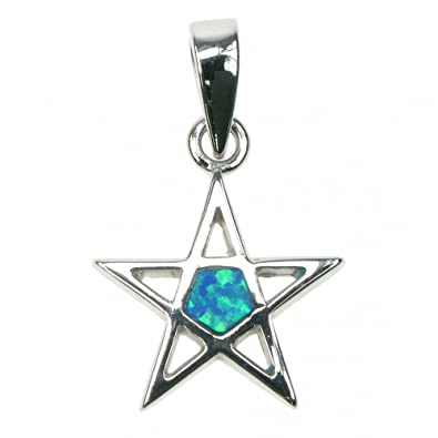 Astral aspects sterling silver blue opal pentagram pendant amazon astral aspects sterling silver blue opal pentagram pendant aloadofball Choice Image