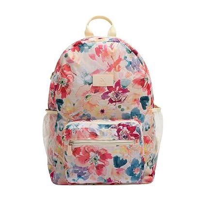 bonnoeuvre par plegable portátil mochila moda unisex negro bolsas de escuela para adolescentes al por mayor