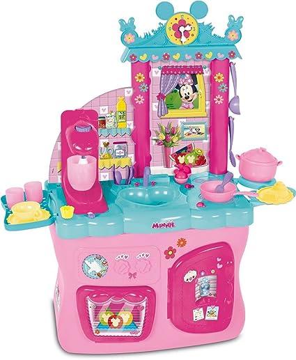 Minnie Mouse - Cocina con Accesorios (IMC Toys 181694): Amazon.es: Juguetes y juegos