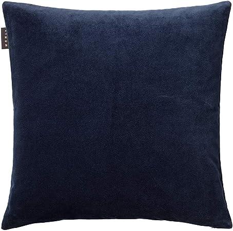 Linum West - Funda de cojín (algodón, 50 x 50 x 0,5 cm), Color Azul: Amazon.es: Hogar
