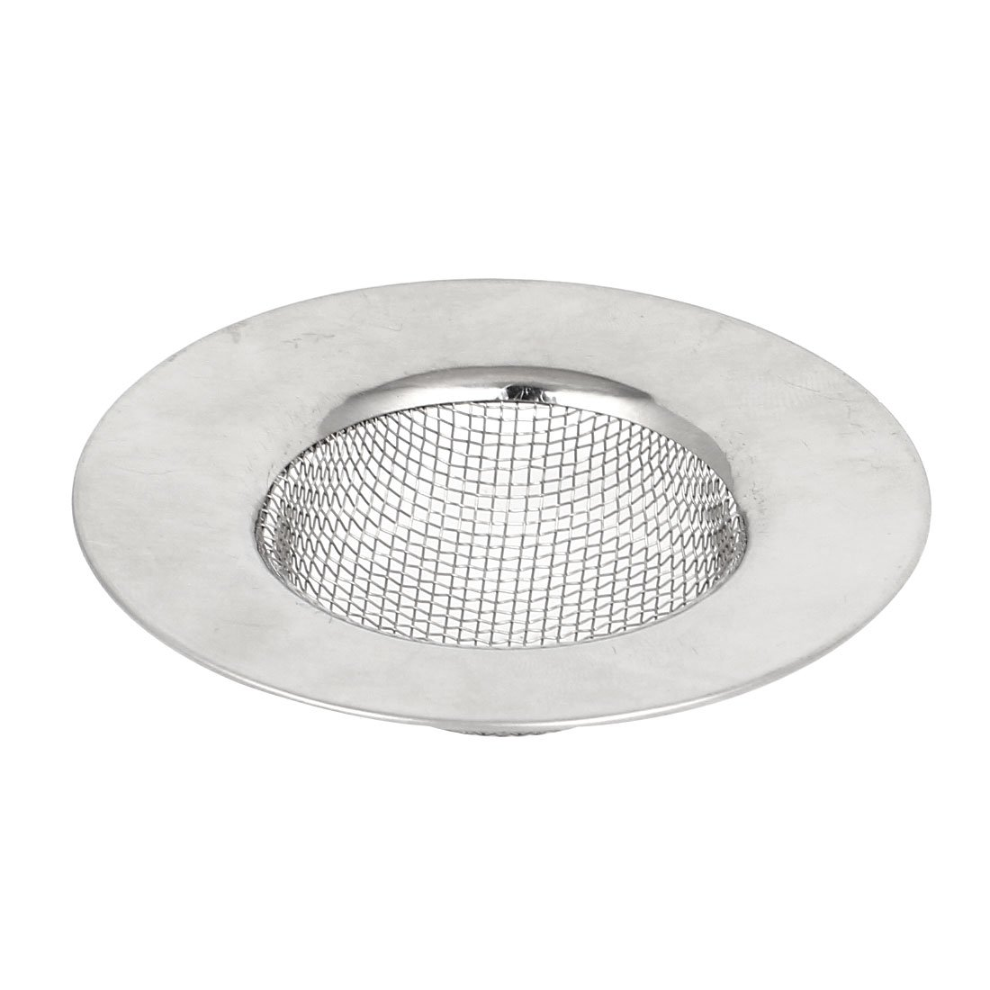 uxcell Stainless Steel Kitchen Water Sink Drain Strainer Basin Drainer a15060600ux0347