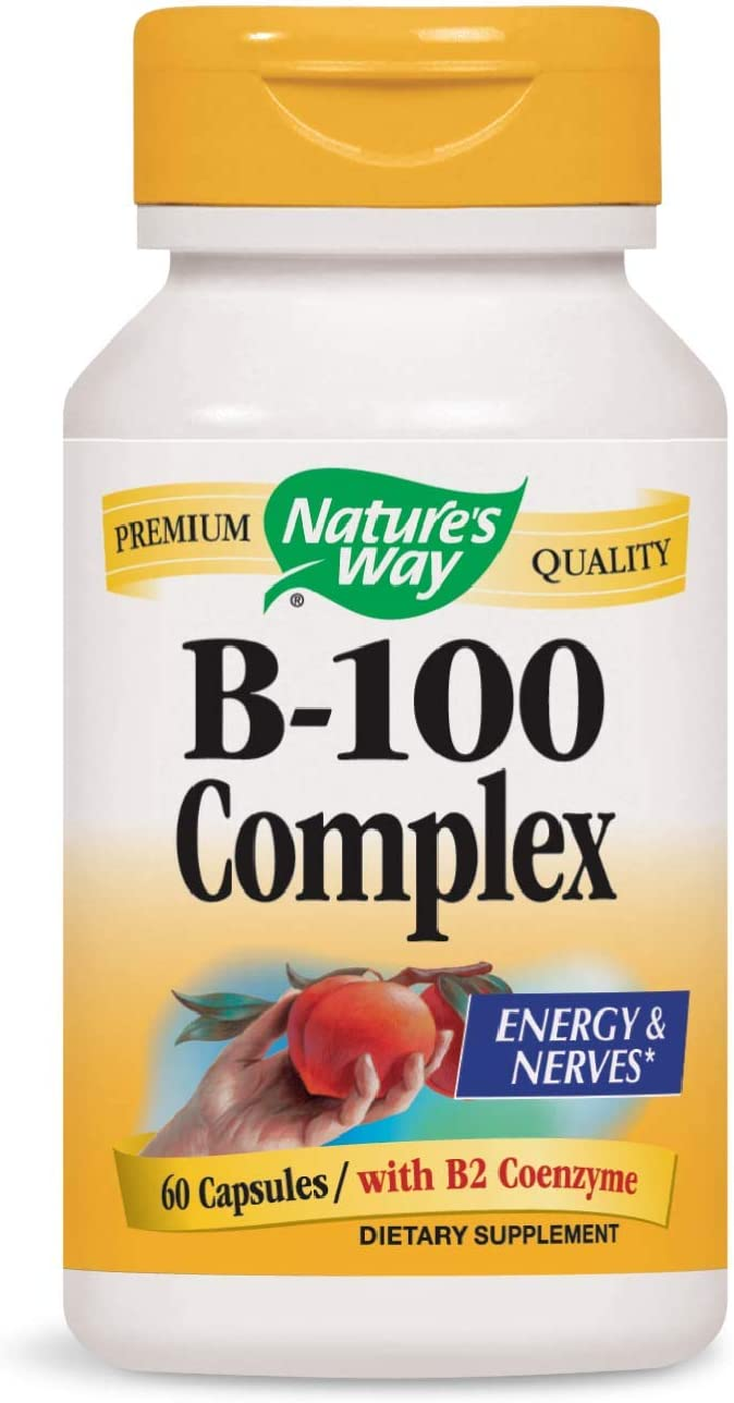 Nature's Way B 100-Complex, 60 Capsule