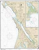 NOAA Chart 18643: Bodega and Tomales Bays; Bodega Harbor 34.3 x 43.5 (TRADITIONAL PAPER)