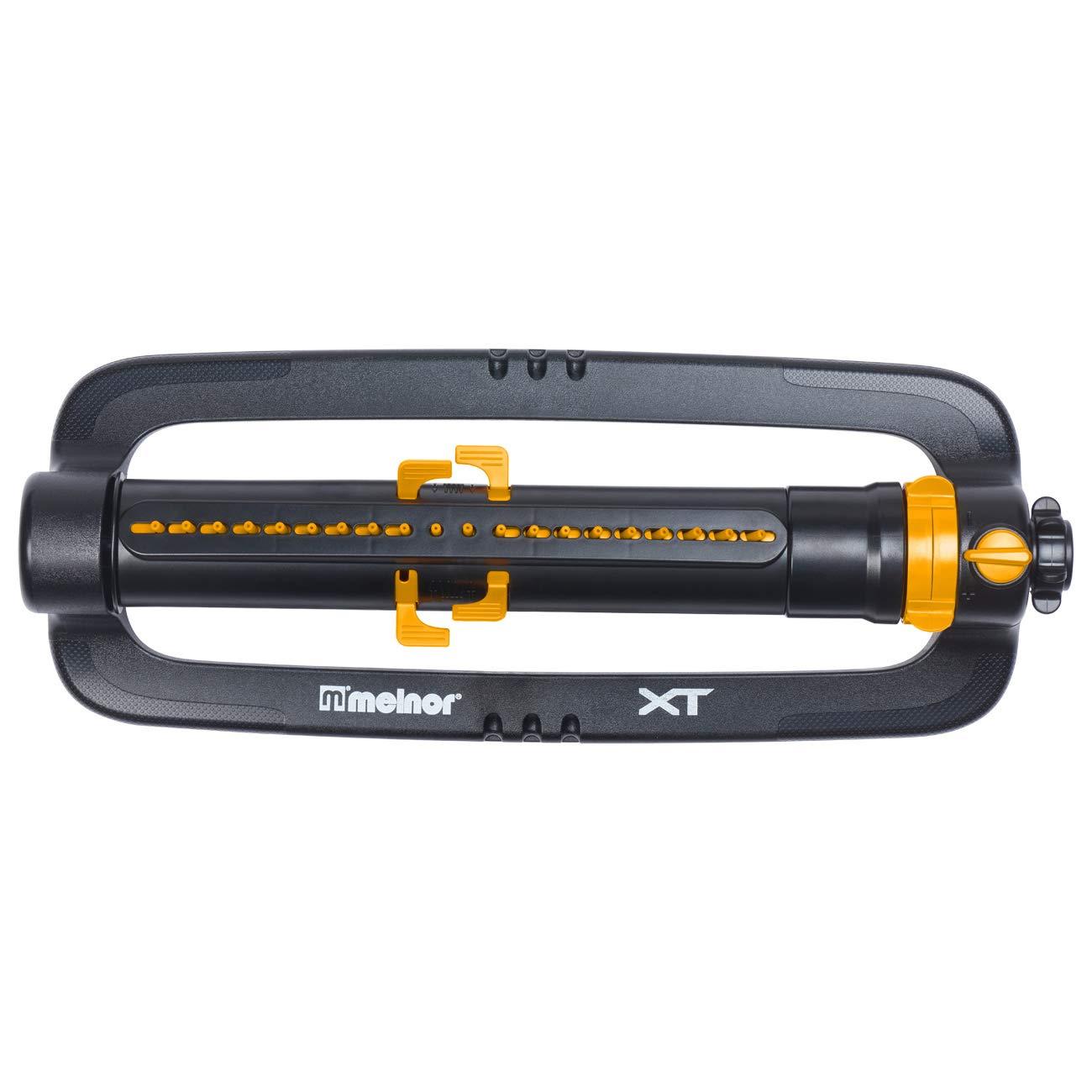 Bundle Melnor 65056-AMZ XT Turbo Oscillator with Range Adjustment and QuickConnect Product Adapter Set