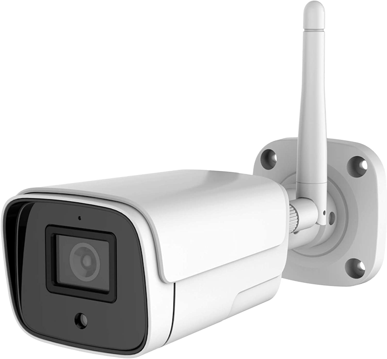 Outdoor Security Camera, Wireless WiFi Home Security Camera with 1080P Night Vision, AI Humanoid Motion Detection, Siren Alarm, IP66 Waterproof, 2-Way Audio, SD Card/Cloud Storage, Works with Alexa