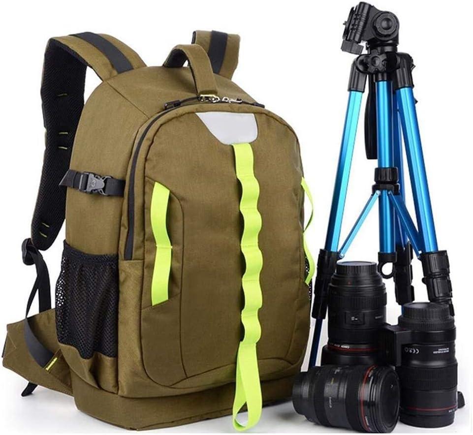 Waitousanqi ファッション旅行写真パックレジャー写真バックパック旅行写真旅行一眼レフカメラパック/ 30 X 17 X 46 CMミリタリーグリーン A15