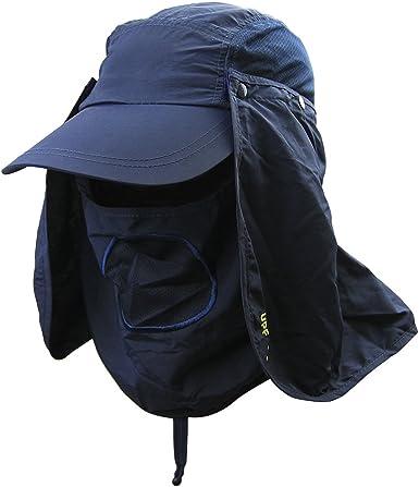 Outdoor Summer Hiking Hat Sun Water Proof UV Fisherman Fishing Caps Cover Unisex